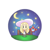Lillie and Pokedex Rotom