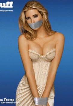 Ivanka Trump Tape Bound and Gagged by Goldy0123
