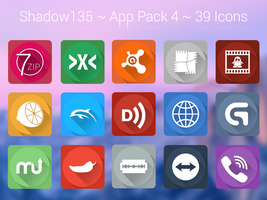 Shadow135 ~ Application Icons Pack 4 by BlackVariant