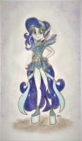 Coloratura in Second outfit (human version) by BrogarArts