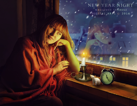 New Year Night by DigitalDreams-Art