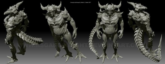The White Demon Lord by asgard-knight