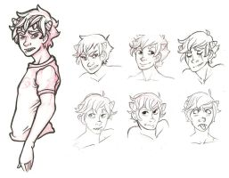 Karkat Character Sheet by temporarytime