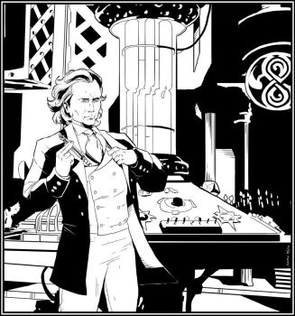 8th Doctor TARDIS Console Room by NathanKroll