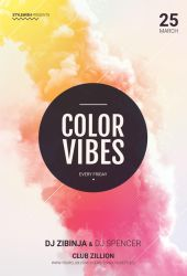 Color Vibes Flyer by styleWish