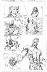 Green Lanterns #42 page 4 PENCIL by vmarion07