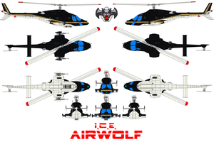 AIRWOLF U.S. Immigration and Customs Enforcement by bagera3005