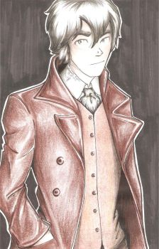 Auguste Dupin. by Kary-Kary