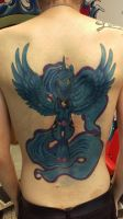 Raising the Night - Tattoo  nearly final by Commander-Pliskin