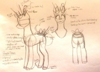 UNOFFICIAL Incense Scented Pony Type Concept Art by Loveshot36