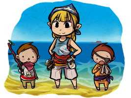 Outset Island Pirates by Linkerbell