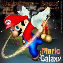 Mario Galaxy by babasse