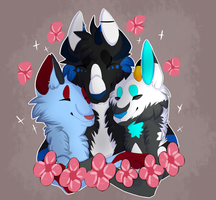 .:Commission - Lock me in your love:. by kittyfresh
