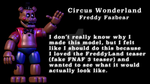 Circus Wonderland Freddy by CaiArt1987