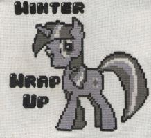 8-Bit Winter Wrap Up Stitched by MidwestBrony