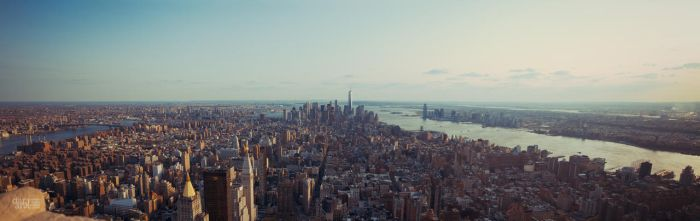 Downtown Manhattan by duhcoolies