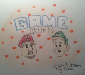 Game Grumps! by AmoebaGagless