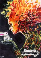 Elementals Sketch Card - Chris Meeks 2 by Pernastudios