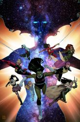 A-Force #1 Variant by ZurdoM