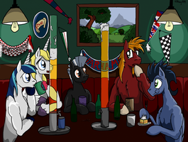 The Evening in Pub by Witkacy1994