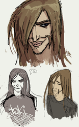 :metalocalypse: toki paintchat by javvie