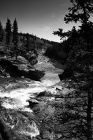 down the falls by malart