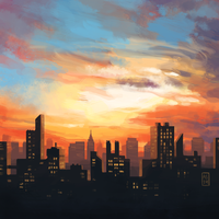 Skyline by driftwoodwolf