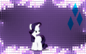 Rarity Wallpaper by dillpickles12293