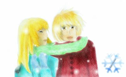 Brian and Laura by Caramelkitty77