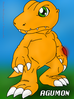 Agumon- Digimon Next by Mister--Jake