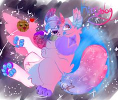 A Gem in Space (Gift for Kittydog!!) by Muffinluver9000