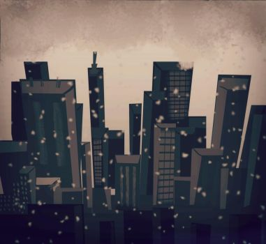 The Empty City by 1Dela1