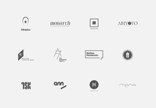 Logos and Logotypes 10-11 by Bobbyperux