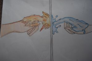 fire and water type thing? idk by mangafreak48