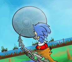 Sonic CD by Pedrovin