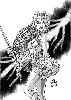 She-ra -Grayskull fundraiser commission by chachaman