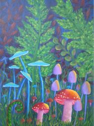 Mushrooms by art-byme