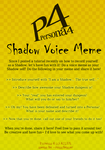 Persona 4 Shadow Voice Meme! by runicfencer