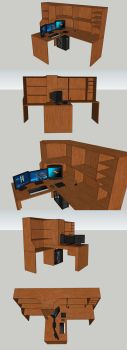 Desk that I hope to make by ITman496