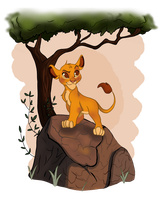 The Lion King by MicroPixels
