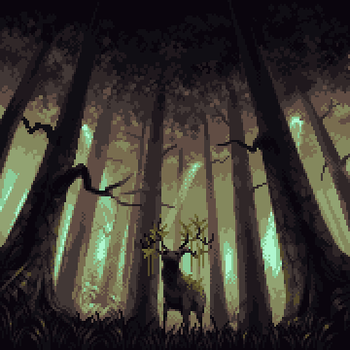 Forest Lord by skittlefuck