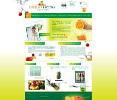 the juice factory website by anca-v