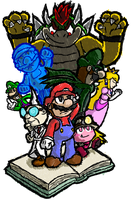 Super Mario Classic: The Whole Darn Thing by Zero-Kirby