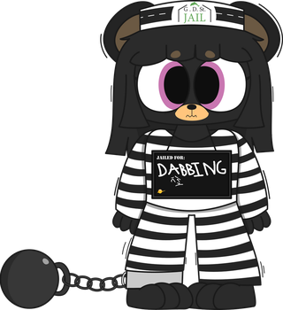 Wild Bear Gets Incarcerated by Police by ScrubSandwich