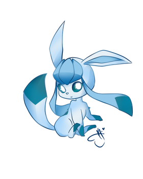 Glaceon - Prize by CattyMaddie