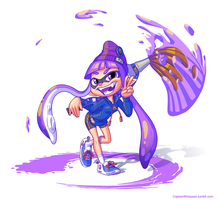 Splatoon Contest Entry by CaptainMolasses