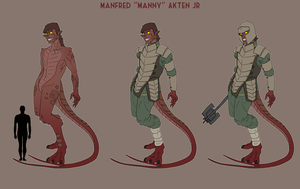 Manny Jr by goeliath
