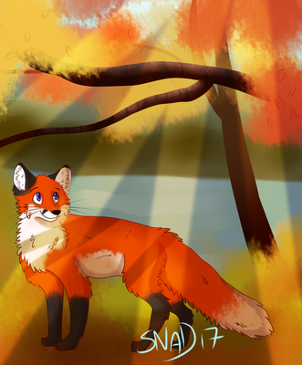 [GIFT] Autumn Leaves by Bacon-Snadwich