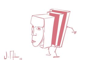 face in shoes boxes by joseanderson