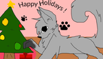 Happy Holidays! by FlameBerryTheWolf